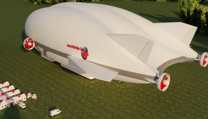 Aerocat R12 - Aerovehicles - Dirigible